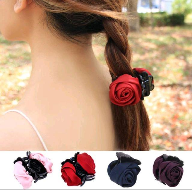 韓風造型🌀玫瑰🌹髮尾夾