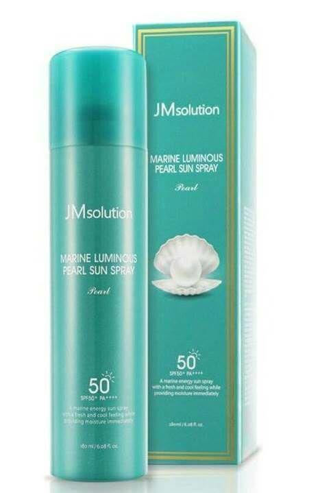 JM solution 全身防水珍珠隔離防曬噴霧