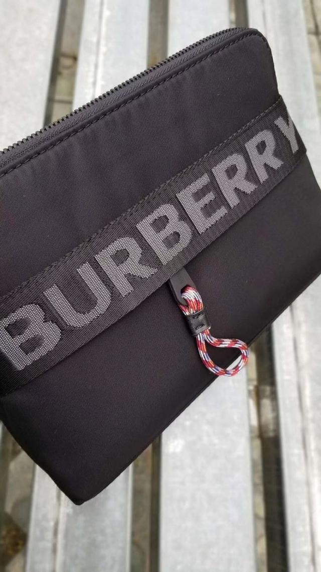 專櫃頂級進口仿水布配皮手包