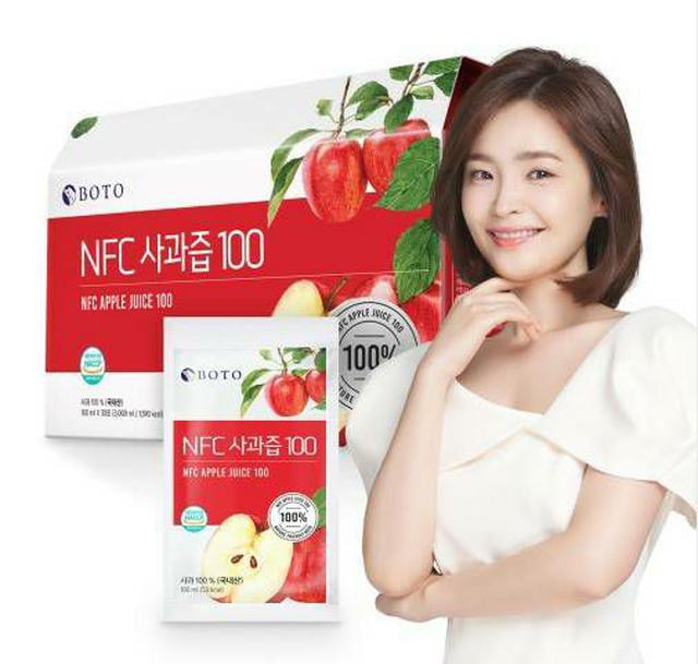 韓國 BOTO 100%蘋果汁 (100ml*30包)/盒