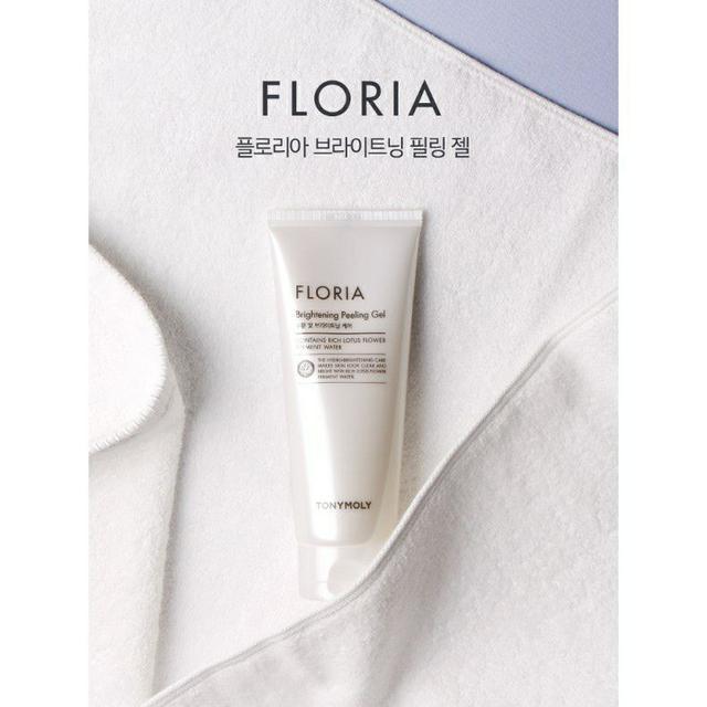 韓國 Tonymoly FLORIA 溫和亮白去角質凝膠 150ml
