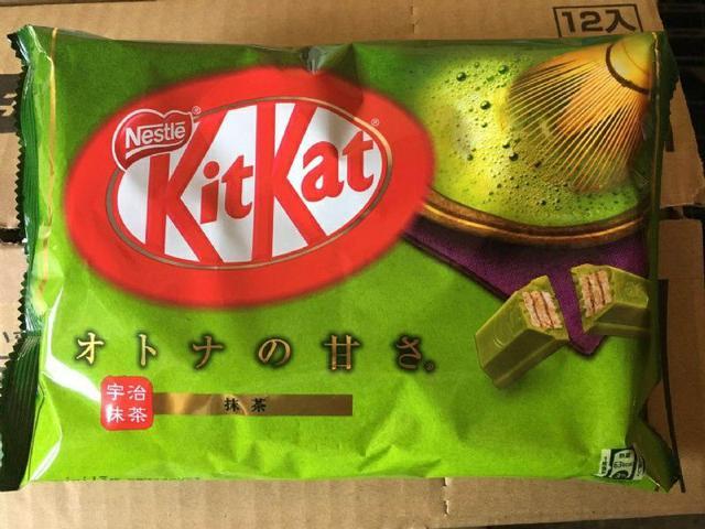 雀巢kitkat巧克力抹茶