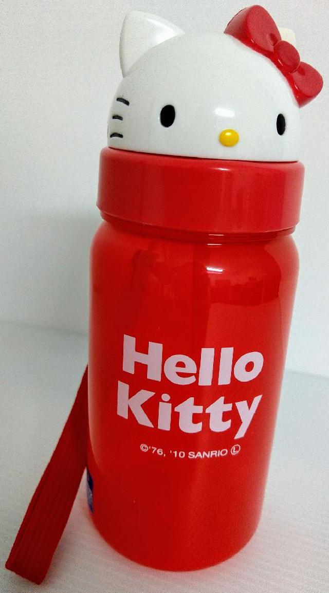 【SKATER】造型吸管水壺350ml-KT