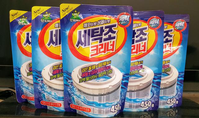 韓國山鬼怪洗衣槽清潔劑450g
