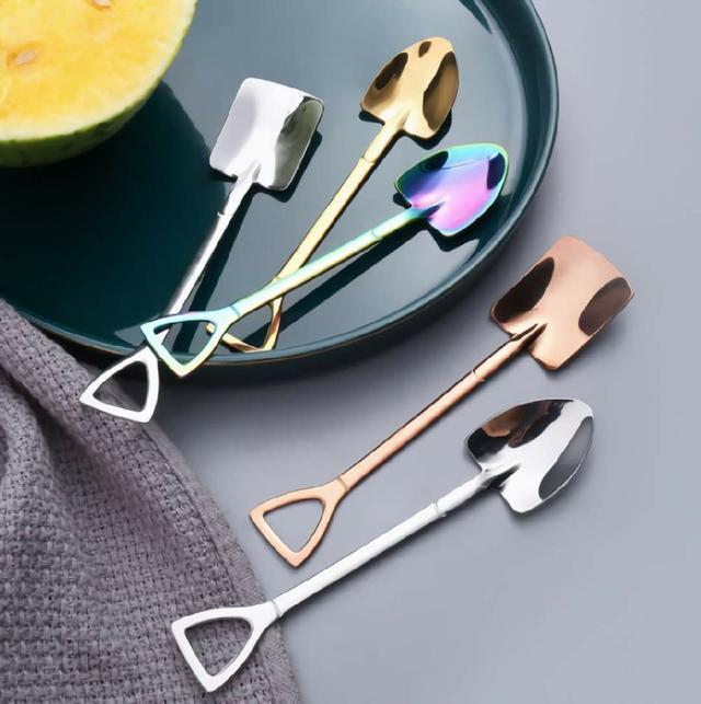 (預購s+) A069-復古不銹鋼造型勺二件組