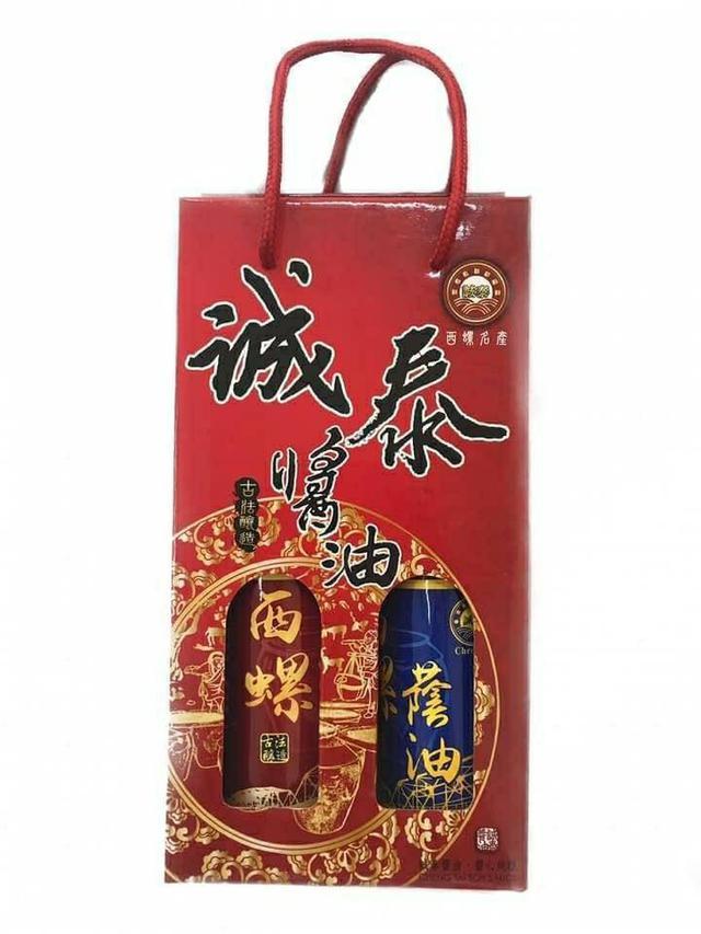 ☘️ 西螺名產 誠泰醬油禮盒【一盒2罐】