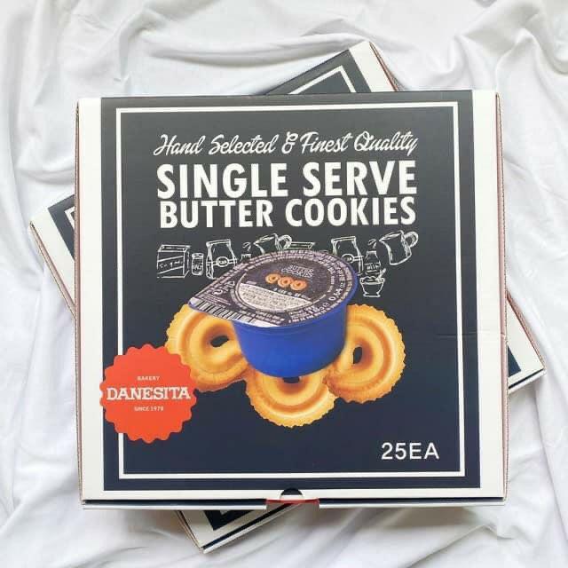 韓國DANESITA奶油風味餅乾-膠囊盒裝25入