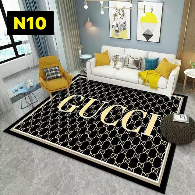 潮牌網紅地毯客廳茶几沙發毯 北歐個性臥室床邊毯房間裝飾品80×120~N1~N10