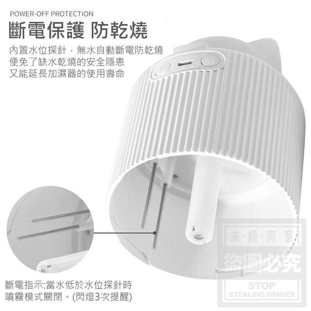 (預購e) 萌寵夜燈霧化加濕器