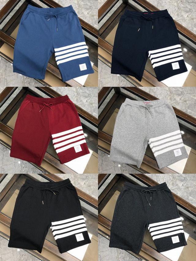 【精品短褲】TB短褲 湯姆布朗純棉短褲五分褲 男生運動休閒短褲