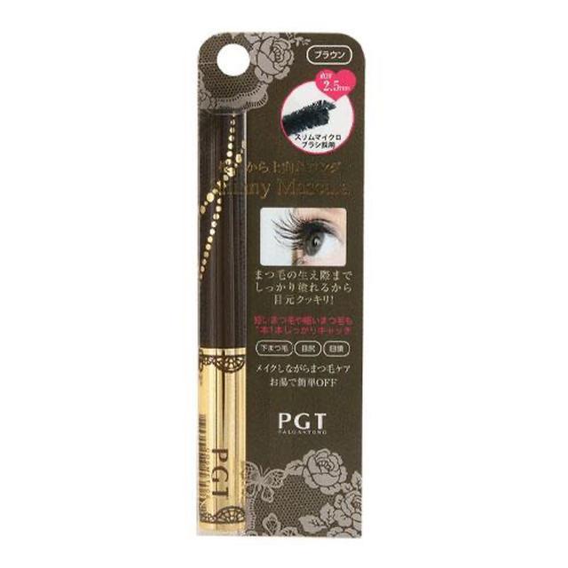 PGT 保濕睫毛膏 黑/棕兩色 PGTスキニーマスカラ ブラック