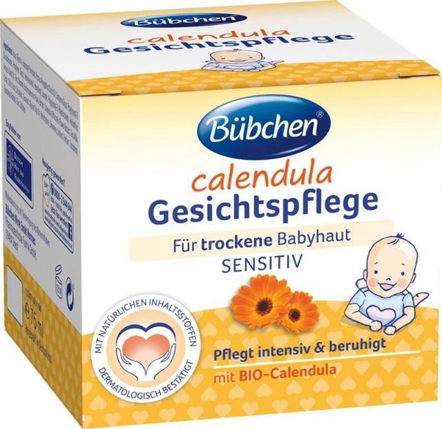 德國Bübchen 有機金盞花面部護理霜 75ML