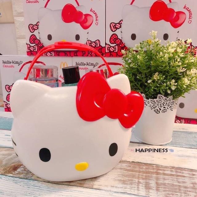 泰國 麥當勞 Hello Kitty 萬用置物籃
