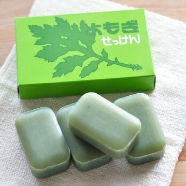 日本地の塩社-自然草本艾草皂 4入-F466