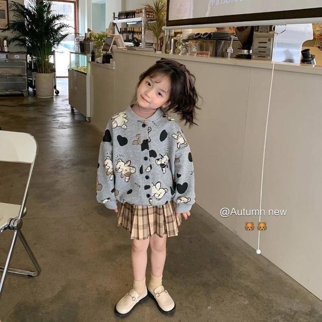 🔹秋裝 女童 兒童 羊羔绒外套