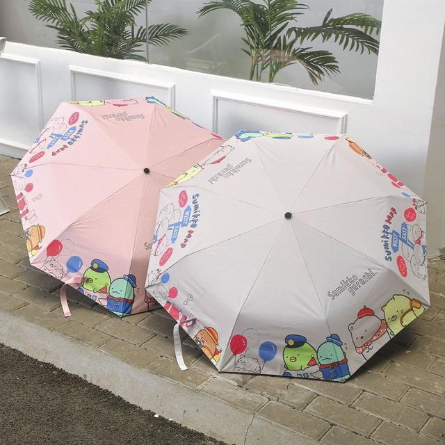 角落生物三折8骨自動開(晴雨傘)