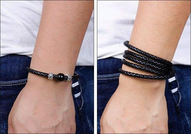 (預購S) 皮革手環式隨身充電線