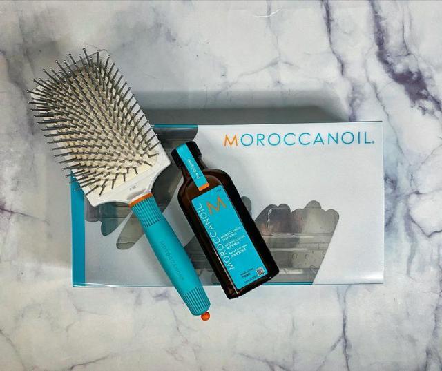 摩洛哥優油 MOROCCANOIL 陶瓷離子大板梳超值特惠組(100ml優油+陶瓷離子大板梳)