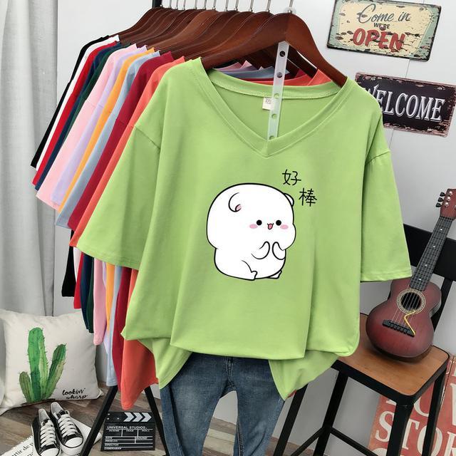(預購)純棉t恤女短袖2020夏裝新款ins潮