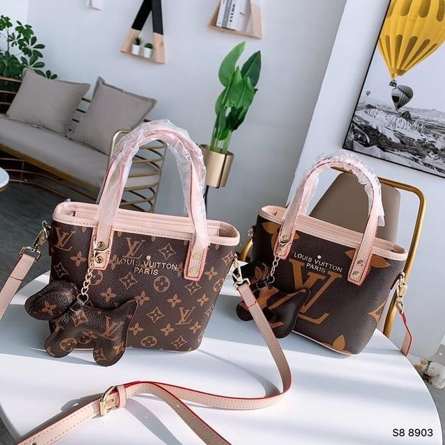 LV新款購物袋