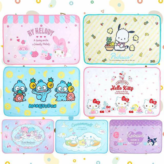日本涼冷感雙面毛毯-7款 三麗鷗 Sanrio Original