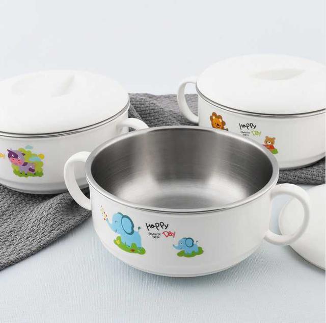 [雜貨店](2入)兒童304不鏽鋼餐具碗