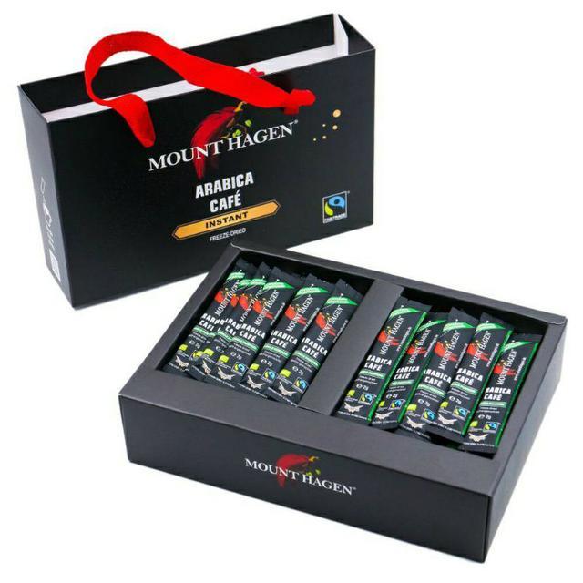 Mount Hagen-德國原裝進口 即溶低咖啡因咖啡禮盒-香醇組合(2g X 48包)