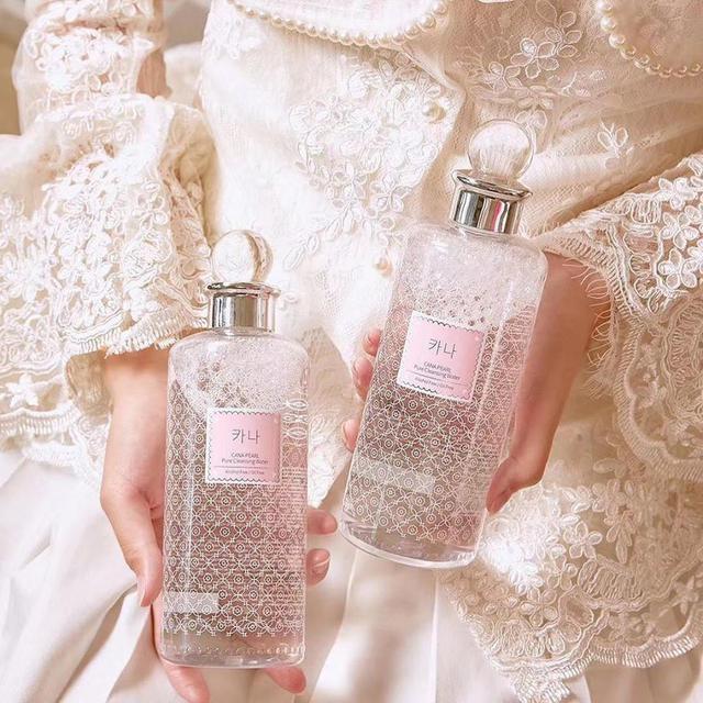 預購 韓國 KANA  伽娜 珍珠溫和深層卸妝水 500ML
