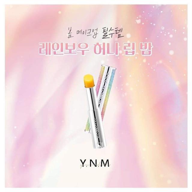 韓國 YNM Rainbow Honey 星空溫感變色潤唇膏3.8g