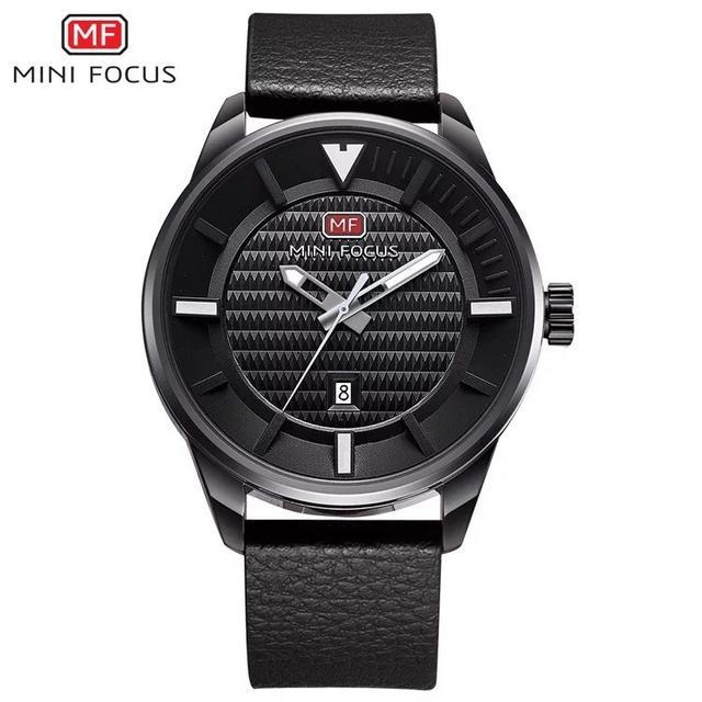 預購 - Mini Focus 精品手錶 黑灰色