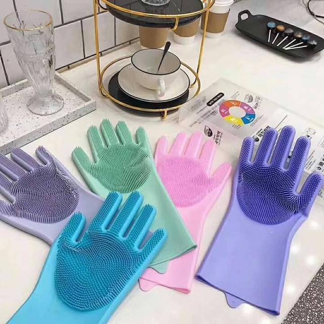 出口韓國魔術洗碗手套