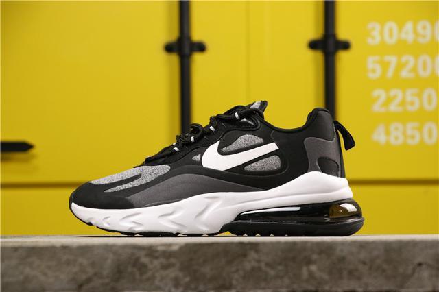 真标版本 公司货! NIKE 耐克 MAX270跑鞋 灰黑白男女鞋