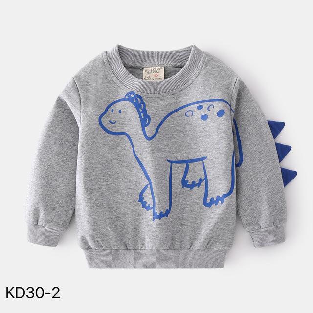 KD30-2 韓版潮流恐龍造型休閒上衣