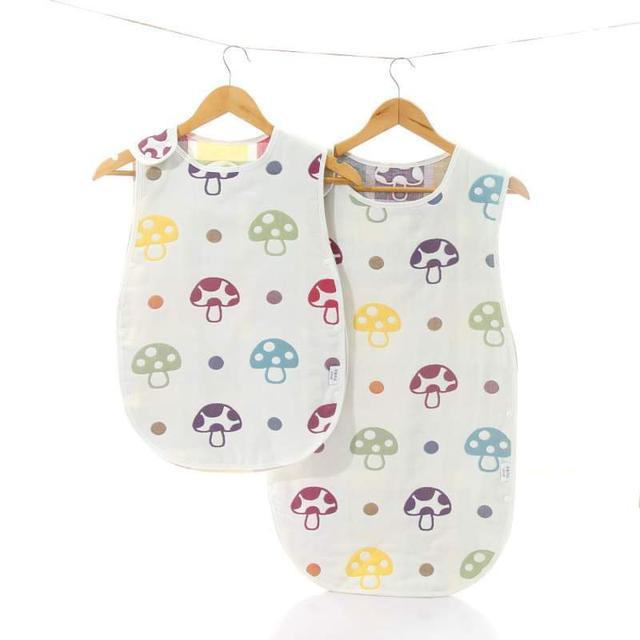 【預購】嬰幼兒防踢被背心