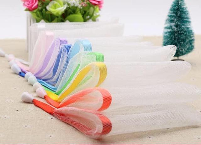 肥皂起泡網袋(一組10個)