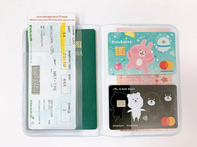 迪士尼 實用護照收納套【08/02】