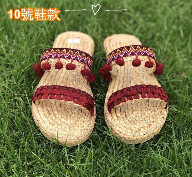 泰國手工藤編草鞋