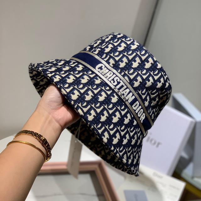 Dior迪奥正品开模渔夫帽 官方同步、高端定制, 原单版本,pk市场一切仿品、 跑量三色