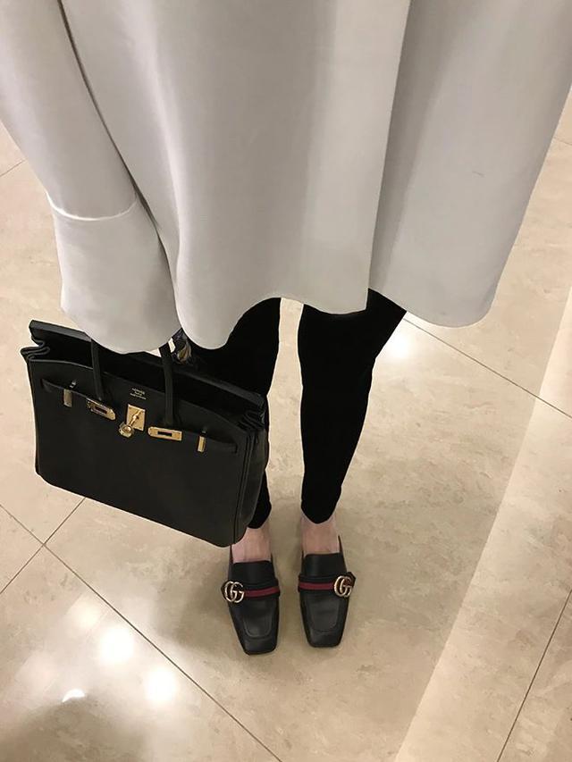 #092525 韓版絲光絨彈力顯瘦長褲