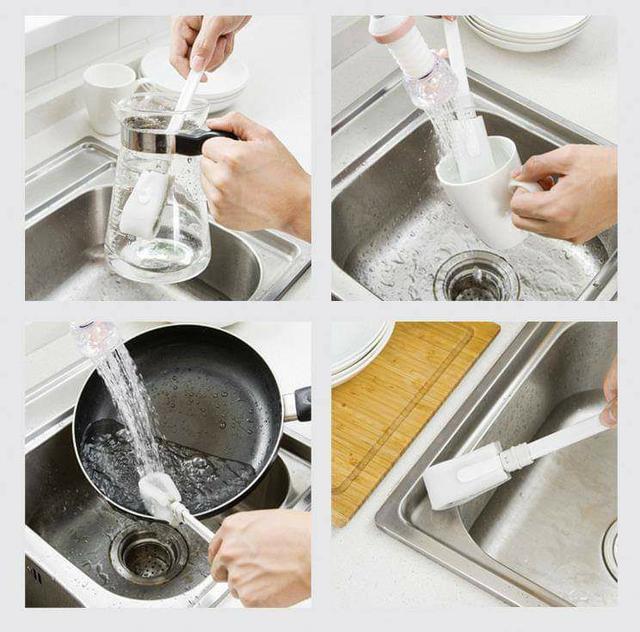 (預購S) G463 - 日本奈米科技海綿洗杯刷(一組3支)