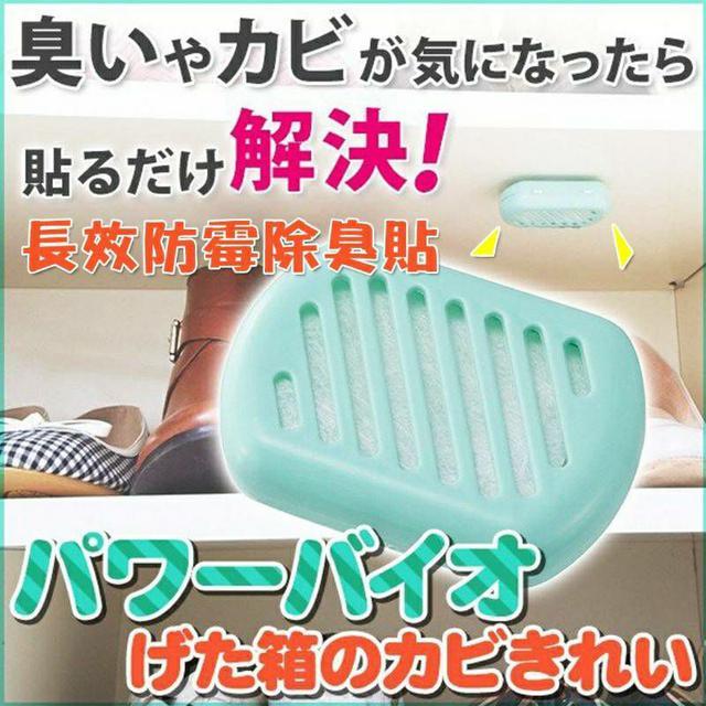 日本 COGIT BIO 長效防霉除臭貼 鞋櫃專用