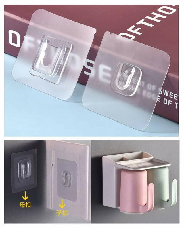 (預購s+) 強力多功能子母卡扣式無痕貼(一包20組)