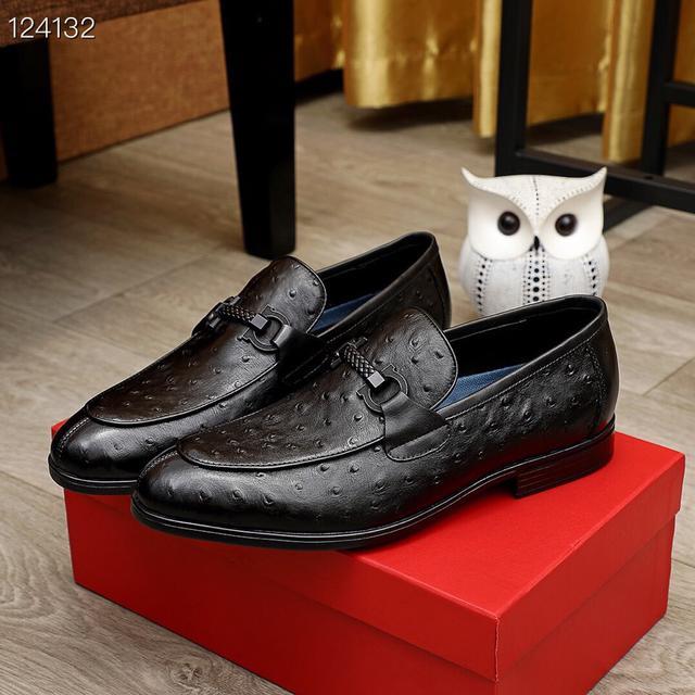 頂級原單 【Ferragamo/菲拉格幕】專櫃最新款 商務休閒鞋