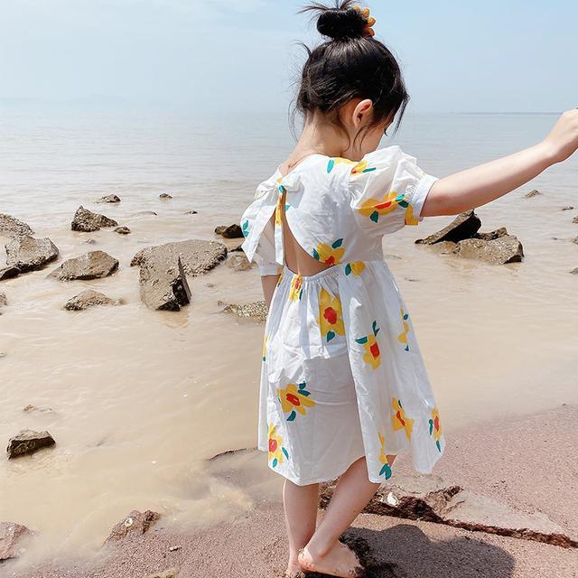 ⚜女童連衣裙夏装寶寶洋氣薄款夏季韓版花裙