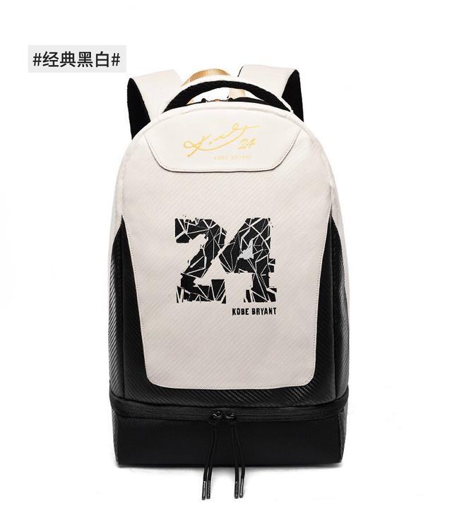 NBA球星Kobe湖人队24号科比签名定制背包双肩包笔记本电脑包