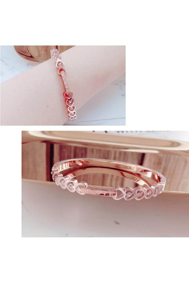現貨熱賣款 高品質鈦鋼手環不褪色不過敏