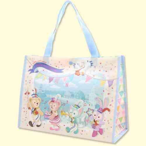 迪士尼海洋限定 35周年紀念版達菲家族環保購物袋