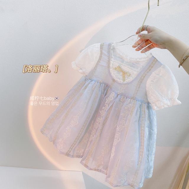 韓版女童連衣裙