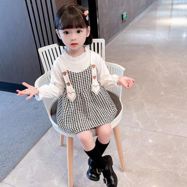 秋季新品小香風連衣裙(貝)
