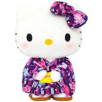 現貨 日本 正品 Hello Kitty 和服 娃娃 公仔